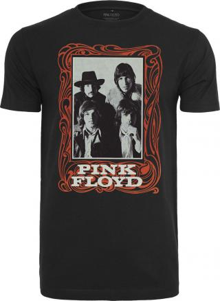 Pink Floyd Logo Tee Black L dámské L