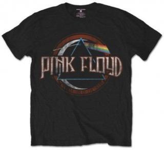 Pink Floyd Unisex Tee Dark Side of the Moon Seal S Black S