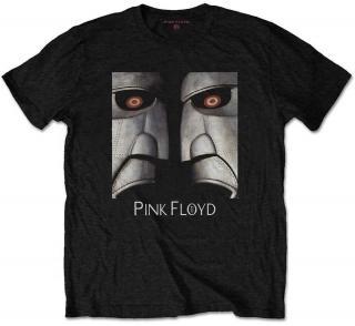 Pink Floyd Unisex Tee Metal Heads Close-Up S Black S