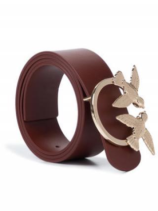 Pinko Dámský pásek Berry Simply Cintura PE 20 PLT01 1H20RF Y5FF Hnědá L