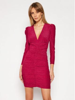 Pinko Koktejlové šaty Ciclone PE 21 BLK01 1G15X8 8378 Růžová Slim Fit dámské XS