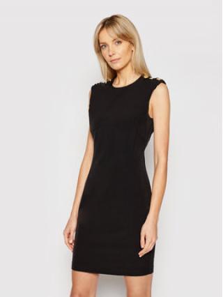 Pinko Koktejlové šaty Insicuro PE21 BLK01 1G1627 Y6ZJ Černá Regular Fit dámské 46N