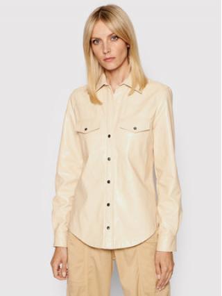 Pinko Košile Ciambella 2 1G16EB 7866 Béžová Regular Fit dámské 38