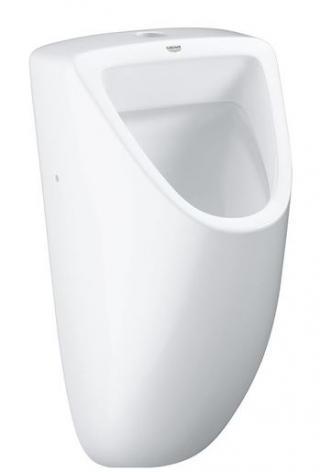 Pisoár závěsný Grohe Bau Ceramic alpská bílá zadní odpad 39439000 bílá alpská bílá