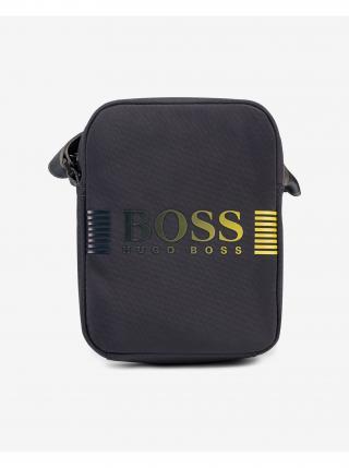 Pixel DD Cross body bag BOSS pánské modrá
