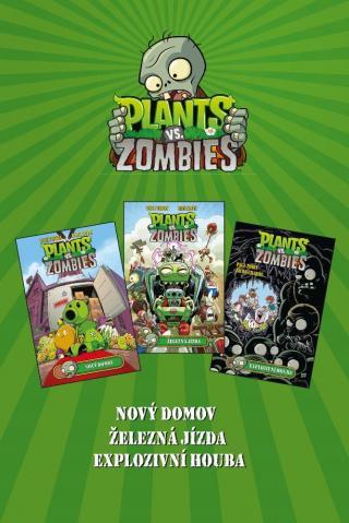 Plants vs. Zombies BOX zelený