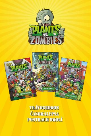 Plants vs. Zombies BOX žlutý