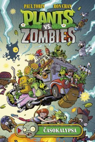 Plants vs. Zombies - Časokalypsa - Tobin Paul, Chan Ron