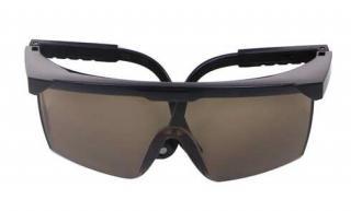 Plastové sluneční brýle č.2 - hnědé
