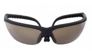Plastové sluneční brýle č.3 - hnědé