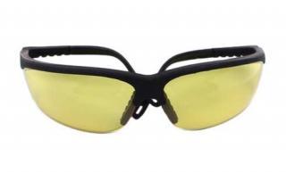 Plastové sluneční brýle č.3 - žluté