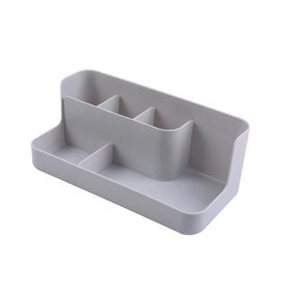 Plastový organizér na kosmetiku Barva: šedá