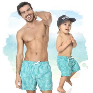 Plavky pro tatínka a syna Homerian
