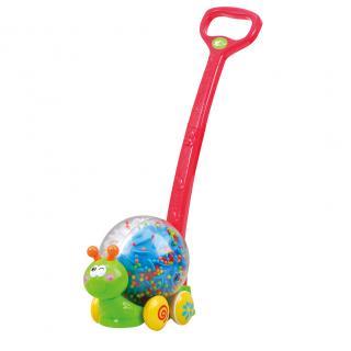 PLAYGO Chrastící šnek na tyči 23 cm