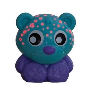 Playgro Usínací lampička medvídek s projektorem  zelený