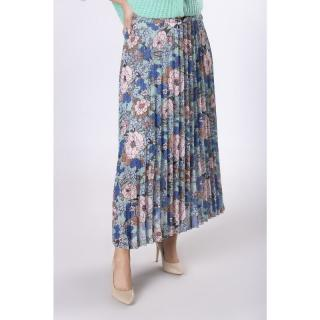 pleated maxi skirt dámské Neurčeno One size
