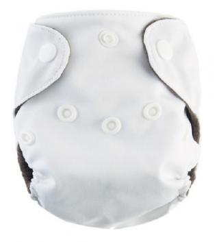 Plenkové plavky pro kojence - 6 barev Barva: bílá