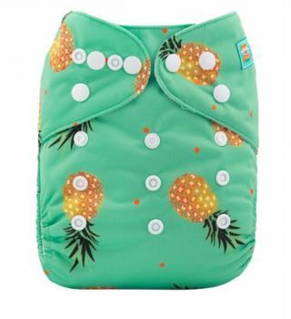 Plenkové plavky pro kojence s ananasy - 10 kusů