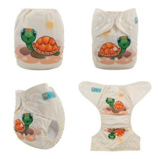 Plenkové plavky pro kojence s potiskem Varianta: 2