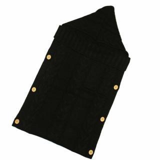 Pletený fusak E450 Barva: černá