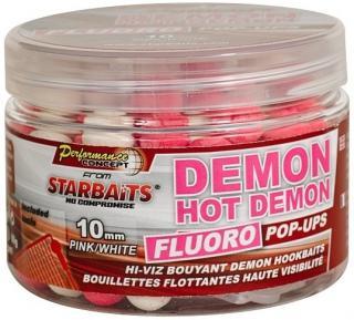 Plovoucí boilies starbaits concept fluoro hot demon 80gr 14mm