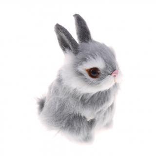 Plyšový zajíček Barva: šedá