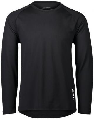 POC Essential DH LS Jersey Carbon Black S pánské S