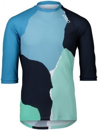 POC MTB Pure 3/4 Jersey Color Splashes Multi Basalt Blue S pánské S