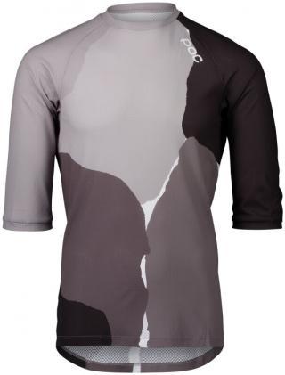 POC MTB Pure 3/4 Jersey Color Splashes Multi Sylvanite Grey L pánské L