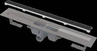 Podlahový žlab Alcaplast bez okraje s roštem pro vložení dlažby APZ15-1050