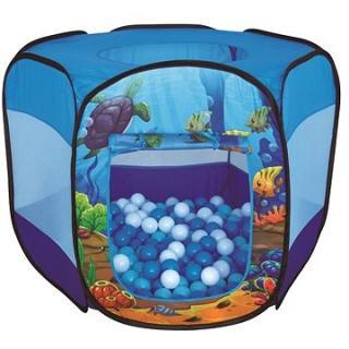 Podmořský stan s kuličkami