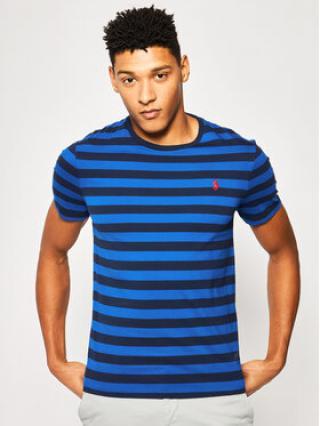Polo Ralph Lauren T-Shirt Classics 710795246 Tmavomodrá Custom Slim Fit pánské S