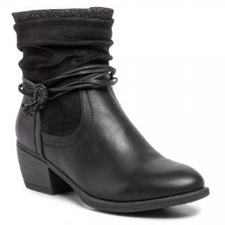 Polokozačky CLARA BARSON - WS2905-02 Black dámské Černá 36