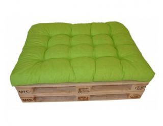 Polstr na paletu 120x80 cm - světle zelený melír