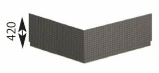 Polysan CARMEN TIFA panel rohový,29919