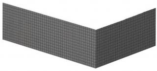 Polysan DEEP 140x75 TIFA panel rohový, levý,72950