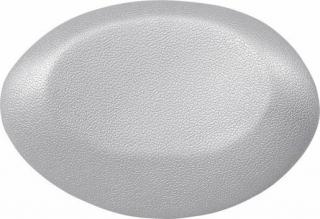 Polysan UFO podhlavník do vany 40x25cm, stříbrná,250082