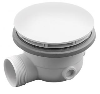 Polysan Vaničkový sifon, průměr otvoru 90mm, DN40, pro vaničky MIRAI, ABS, bílá,73181