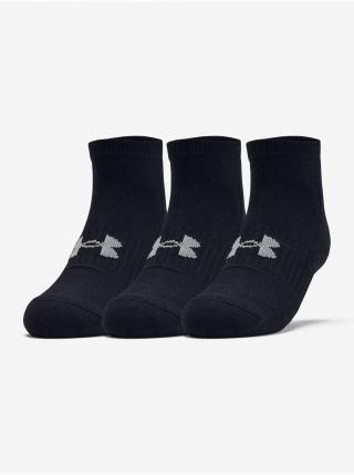 Ponožky Under Armour Training Cotton Locut - černá pánské 41-46