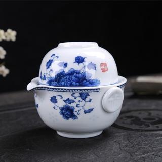 Porcelánová čajová sada 2 ks