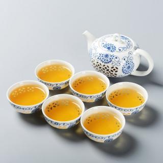 Porcelánová čajová sada 7 ks