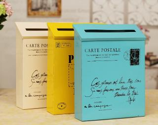 Poštovní schránka - 8 barev Barva: bílá
