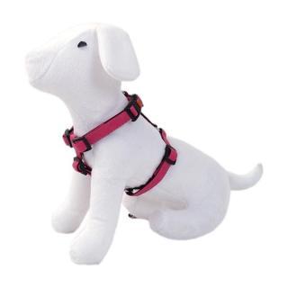 Postroj DOG FANTASY Classic růžový 65 - 100 cm