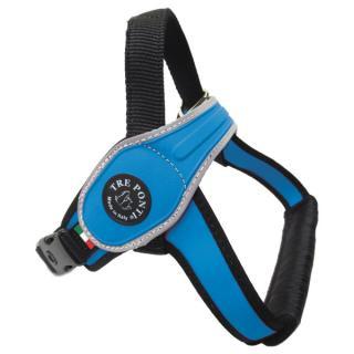 Postroj treponti reflexní od 30 do 40 kg modrý