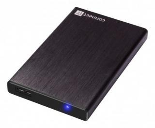 Pouzdra pro HDD connect it externí box lite pro hdd 2,5 sata, usb 3.0 černý