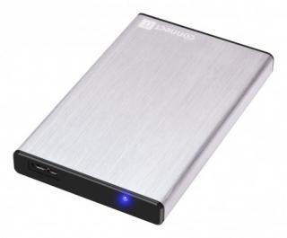 Pouzdra pro HDD connect it externí box lite pro hdd 2,5 sata, usb 3.0 stříbrný