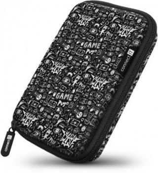 Pouzdra pro HDD pevné ochranné pouzdro na 2,5 hdd connect it cff5000dd, doodle