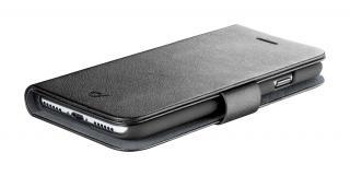 Pouzdro CellularLine Book Agenda pro Samsung Galaxy A91, černá