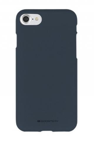 Pouzdro Mercury Soft Feeling Pro Huawei P40 Lite, půlnočně modrá