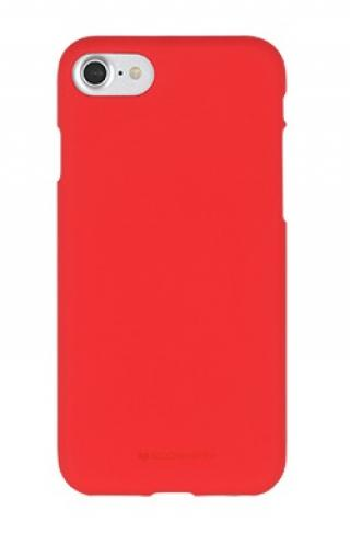 Pouzdro Mercury Soft Feeling pro Samsung Galaxy A71, červená